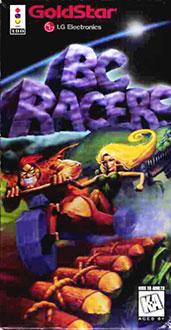 Carátula del juego BC Racers (3DO)