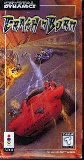 Carátula del juego Crash 'N Burn (3DO)