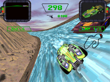 Pantallazo del juego online Crash 'N Burn (3DO)