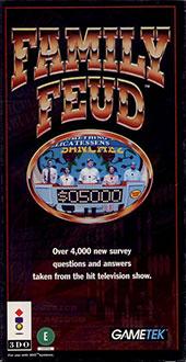 Carátula del juego Family Feud (3DO)