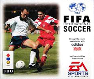 Carátula del juego FIFA International Soccer (3DO)