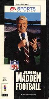 Portada de la descarga de John Madden Football