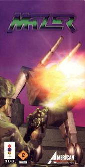 Carátula del juego Mazer (3DO)