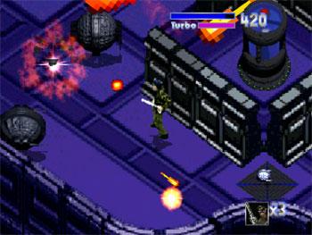 Pantallazo del juego online Mazer (3DO)