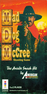 Portada de la descarga de Mad Dog McCree