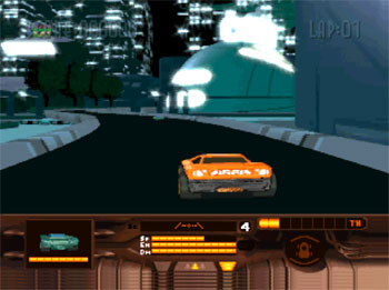 Pantallazo del juego online Mega Race (3DO)