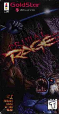 Juego online Primal Rage (3DO)