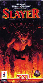 Carátula del juego Advanced Dungeons and Dragons Slayer (3DO)