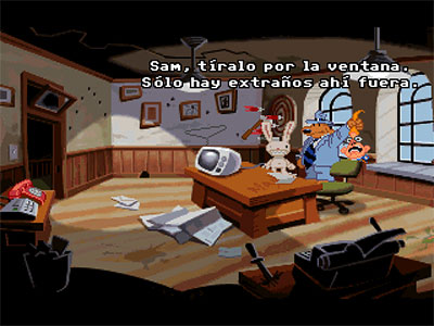 Sam & Max: Hit the Road CD (ScummVm)
