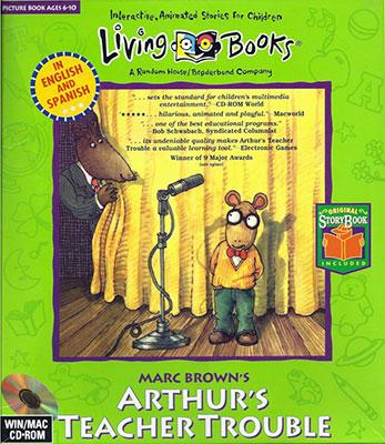 Portada de la descarga de Marc Brown's Arthur's Teacher Trouble