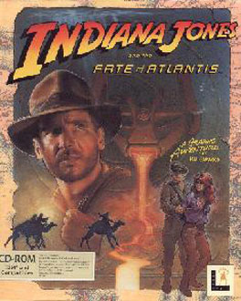 Portada de la descarga de Indiana Jones and the Fate of Atlantis CD