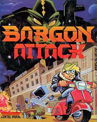 Portada de la descarga de Bargon Attack (ScummVM)