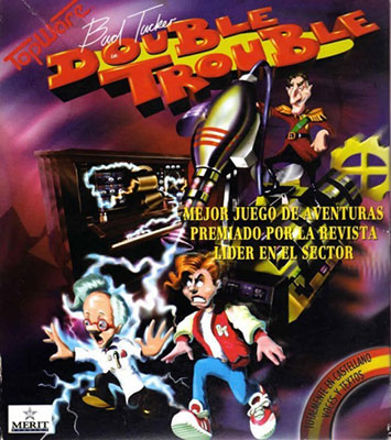 Portada de la descarga de Bud Tucker in Double Trouble (ScummVM)