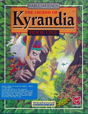 Portada de la descarga de The Legend of Kyrandia – Book One (ScummVM)