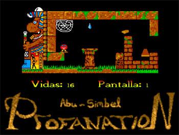 Imagen de la descarga de Abu Simbel Profanation Remake