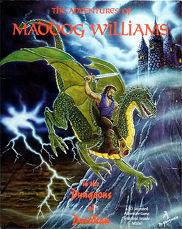 Portada de la descarga de The Adventures Of Maddog Williams In The Dungeons Of Duridian