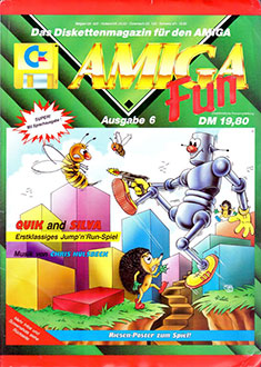 Juego online The Adventures Of Quik And Silva (AMIGA)