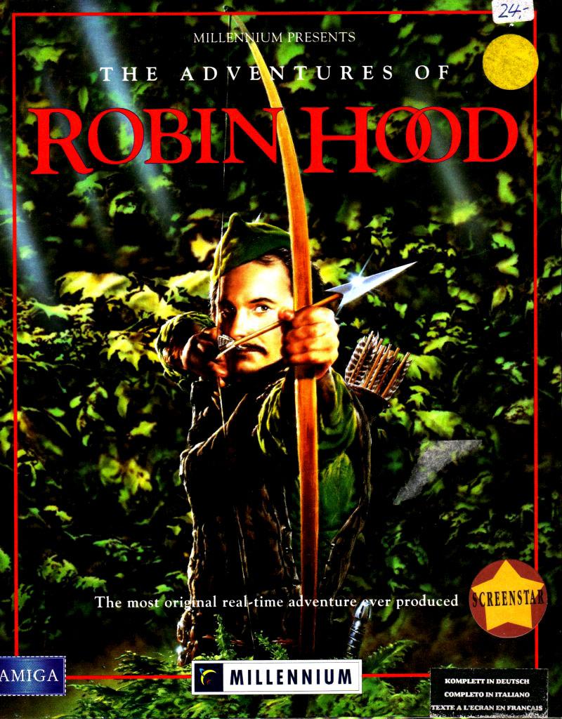 Juego online The Adventures Of Robin Hood (AMIGA)