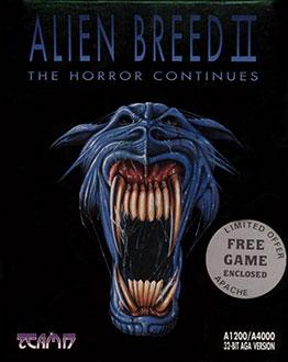 Portada de la descarga de Alien Breed II: The Horror Continues