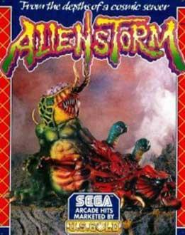 Juego online Alien Storm (AMIGA)
