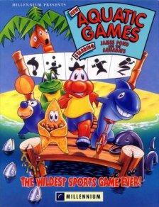 Portada de la descarga de The Aquatic Games starring James Pond and the Aquabats