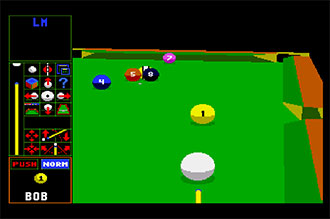 Pantallazo del juego online Archer MacLean's Pool (AMIGA)