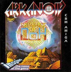 Carátula del juego Arkanoid Revenge Of Doh (AMIGA)