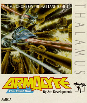 Carátula del juego Armalyte The Final Run (AMIGA)
