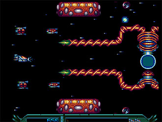Pantallazo del juego online Armalyte The Final Run (AMIGA)