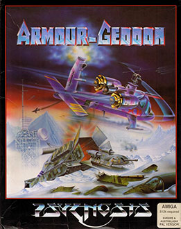 Carátula del juego Armour-Geddon (AMIGA)