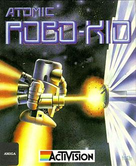 Juego online Atomic Robo-Kid (AMIGA)
