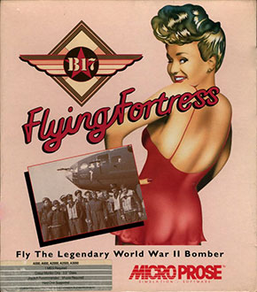 Carátula del juego B-17 Flying Fortress (AMIGA)