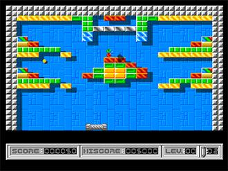 Pantallazo del juego online Ball Raider II (AMIGA)