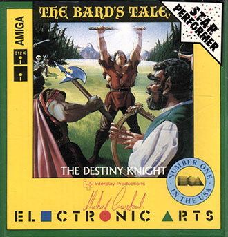 Portada de la descarga de The Bard's Tale II: The Destiny Knight