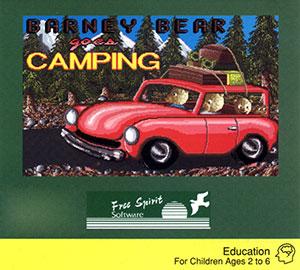 Portada de la descarga de Barney Bear Goes Camping