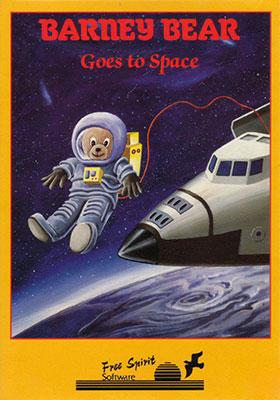 Portada de la descarga de Barney Bear Goes to Space