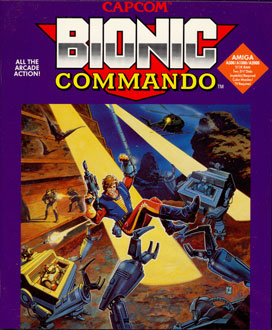 Portada de la descarga de Bionic Commando