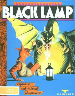 Portada de la descarga de Black Lamp