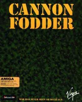 Portada de la descarga de Cannon Fodder