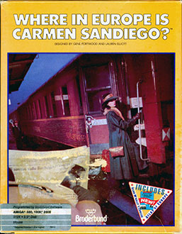 Juego online Where in Europe is Carmen Sandiego? (AMIGA)