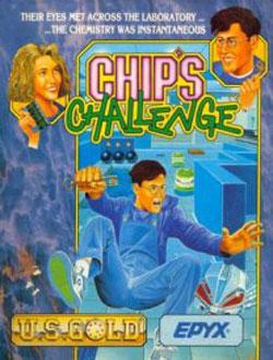 Portada de la descarga de Chip's Challenge