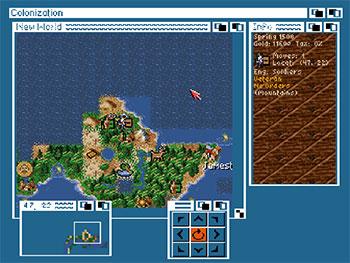 Imagen de la descarga de Sid Meier's Colonization