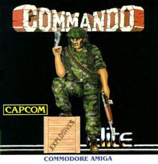 Portada de la descarga de Commando