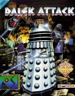 Portada de la descarga de Dr. Who: Dalek Attack