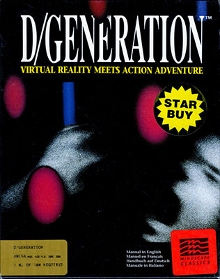 Portada de la descarga de D/Generation