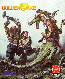Portada de la descarga de Golden Axe