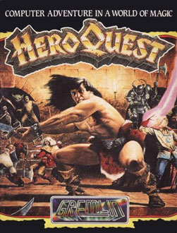 Portada de la descarga de Hero Quest