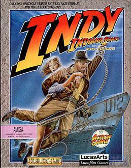 Portada de la descarga de Indiana Jones and The Fate of Atlantis – The Action Game