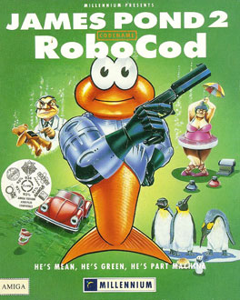 Portada de la descarga de James Pond 2: Codename RoboCod