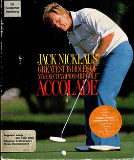 Juego online Jack Nicklaus' Greatest 18 Holes of Major Championship Golf (AMIGA)